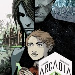 Arcadia #2 Second Print Cover by Eric Scott Pfeiffer