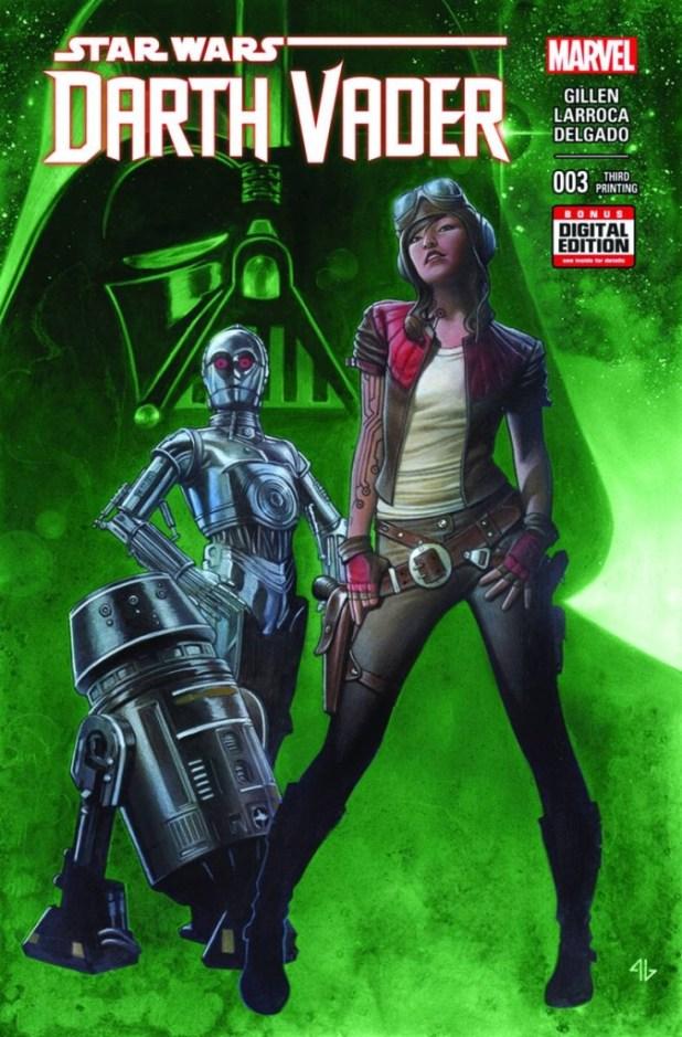 Darth Vader #3 Granov 3rd Printing Variant