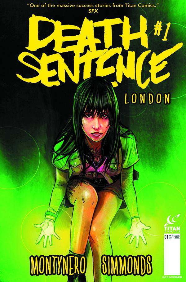 Death Sentence London Cover B