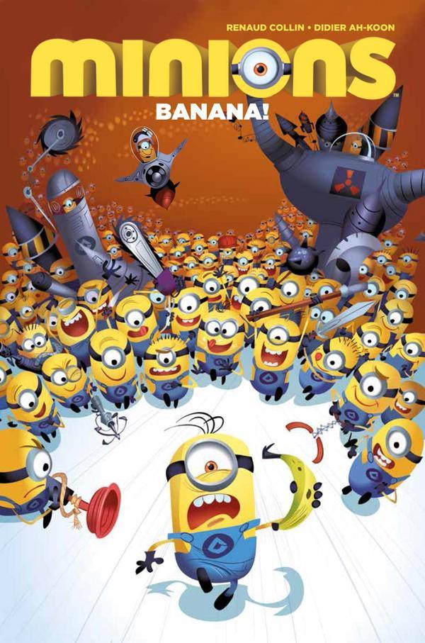 Minions Digest Trade Paperback Volume 1: Banana!