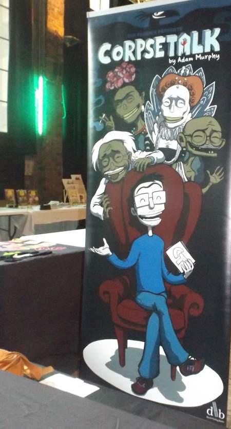 Glasgow Comic Con 2015 - Corpsetalk Banner