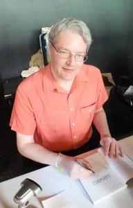 Darryl Cunningham at Glasgow Comic Con 2015