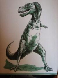 Dinosaur Art by Jens Harder