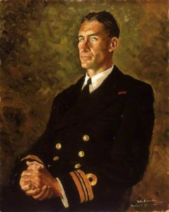 Lieutenant Commander Stephen Halden Beattie (1908–1975) by John Worsley. Image: National Maritime Museum, Greenwich, London