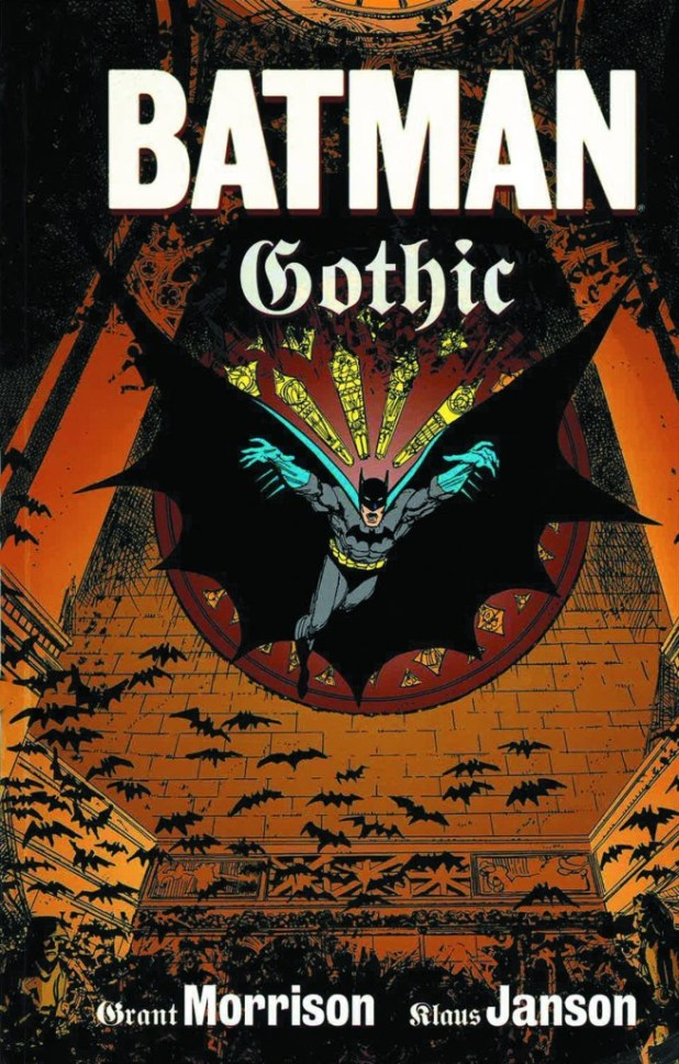 Batman Gothic Deluxe Edition Hard Cover