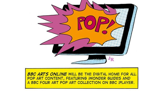 Pop Art Season Online Banner