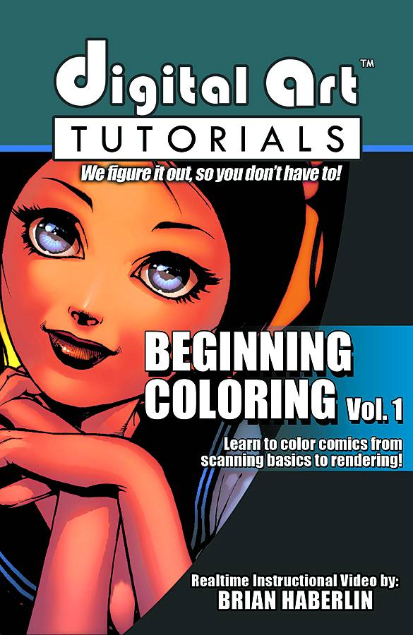 Brian Haberlin's Digital Arts Tutorial: Beginning Coloring