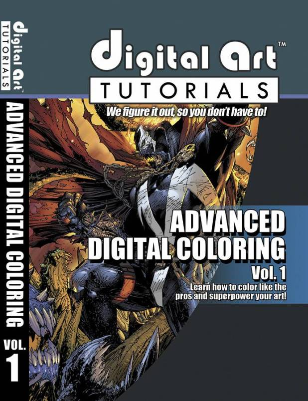 Digital Art Tutorials Advance Digital Coloring Volume 1