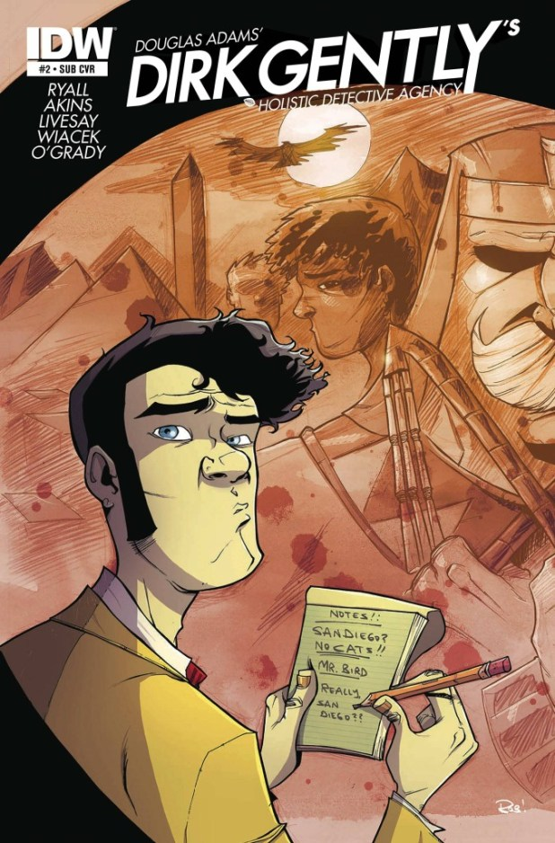Dirk Gently's Holistic Detective Agency #2 - Subs