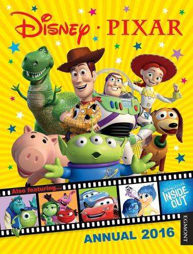 Disney Pixar Annual 2016