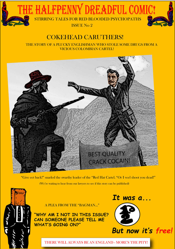 Halfpenny Dreadful Comic Issue 2