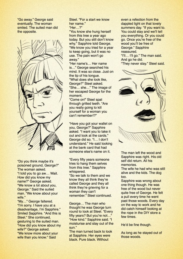 Sapphire & Steel: The Blacjk Tree Assignment by Nigel Auctherlounie