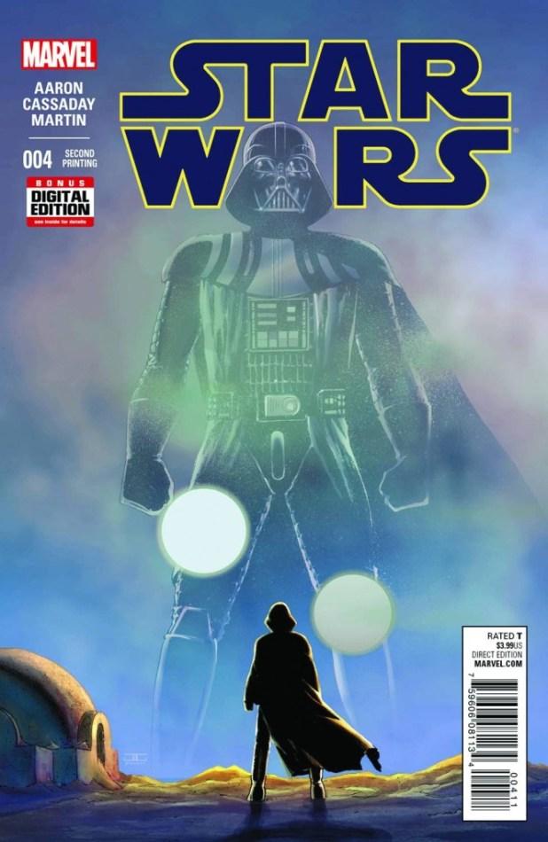 Star Wars #4 Cassaday Second Printing Variant