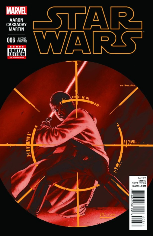 Star Wars #6 Cassaday 2nd Printing Variant