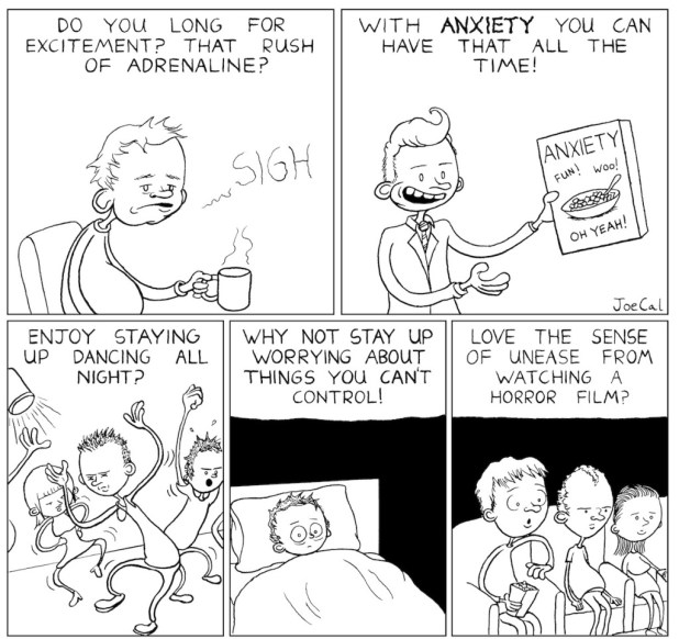 "Dirty Rotten Comics Volume 5 - ""Anxiety"" by Joe Callanan"