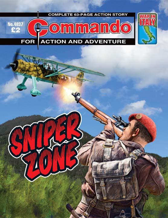 Commando No 4837 – Sniper Zone