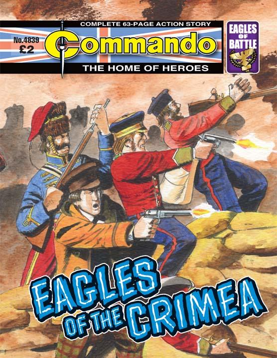 Commando No 4839 – Eagles of the Crimera
