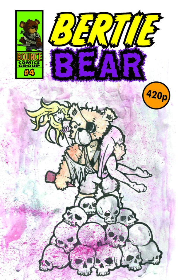 Bertie Bear Issue 4 - Cover