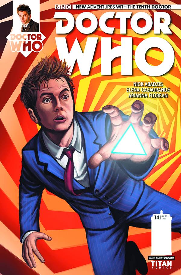Doctor Who: The Tenth Doctor #14 - Cover A