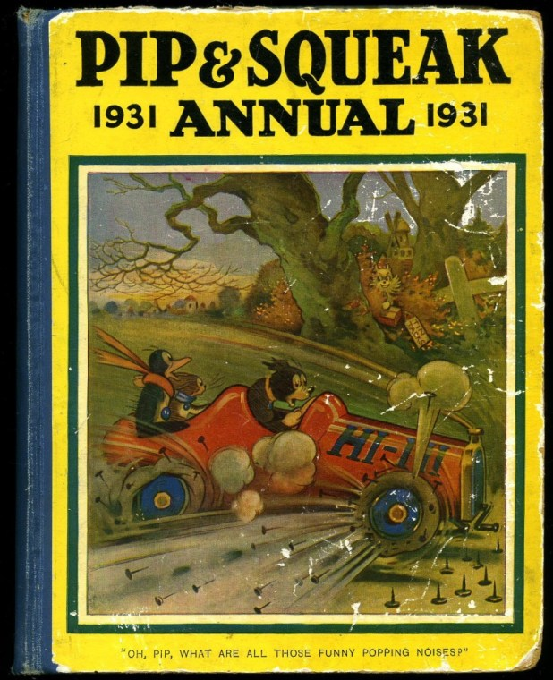 Pip & Squeak Annual 1931