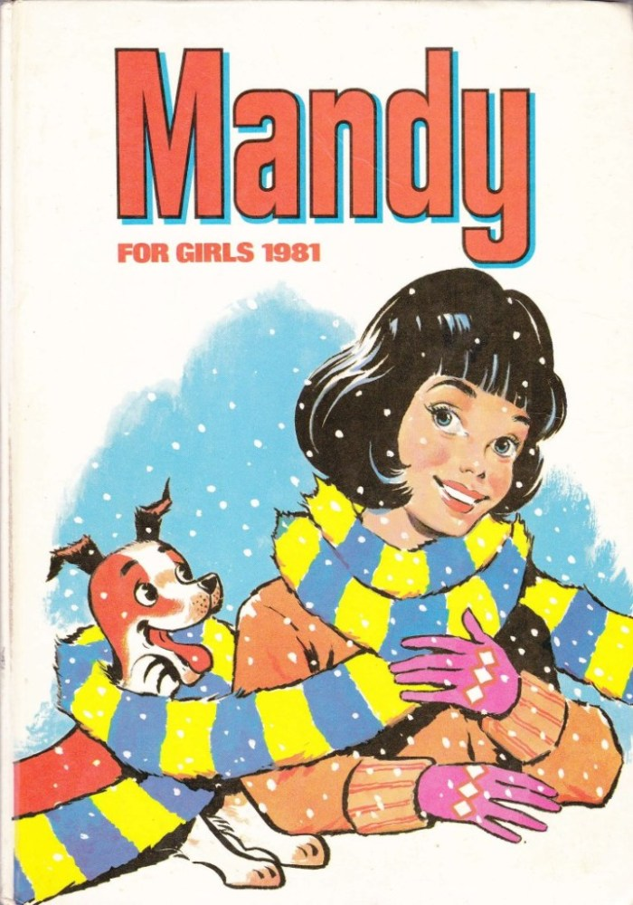 Mandy Annual 1981