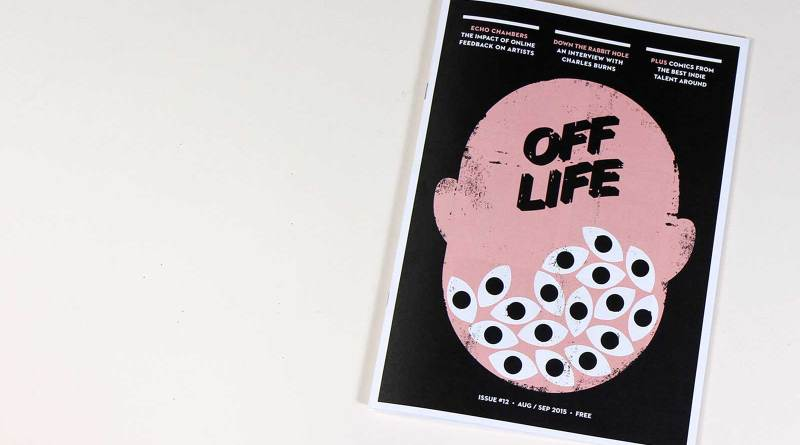 The cover of OFF LIFE Issue 12 is the work of The Project Twins