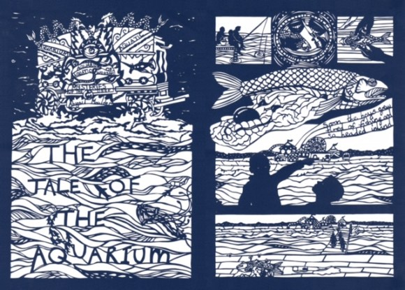 Tales From the Deep - The Tale of the Aquariuam, art by Abigail Moulder