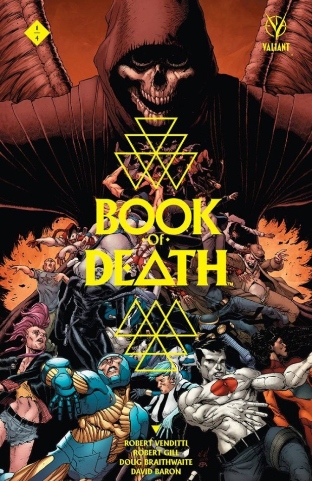 Book Of Death #1 2nd Printing