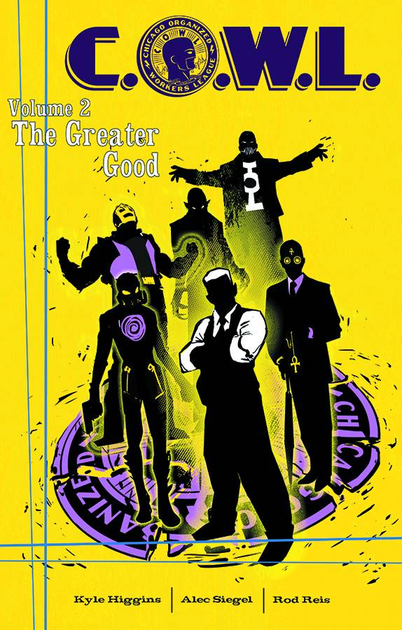 Cowl Trade Paperback Volume 2 The Greater Good