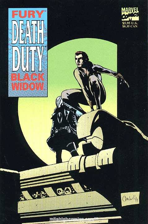 Fury/Black Widow: Death Duty Graphic Novel