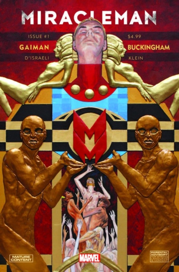 The regular cover for Miracleman #1 Volume 2 by Mark Buckingham