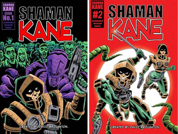 Shaman Kane Issues 1 and 2