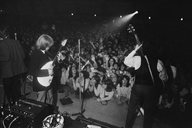 The Rolling Stones at Wimbledon Palais in August 1964. Photo: Poger Perry