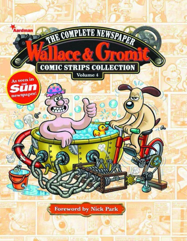 Wallace & Gromit Newspaper Strips Hard Cover Volume 4