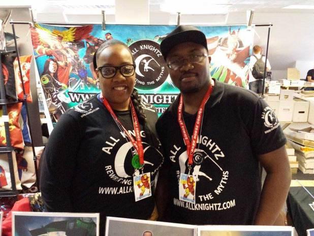 All Knightz (Felisha Mason and Wayne Riley). Photo: Jon Laight