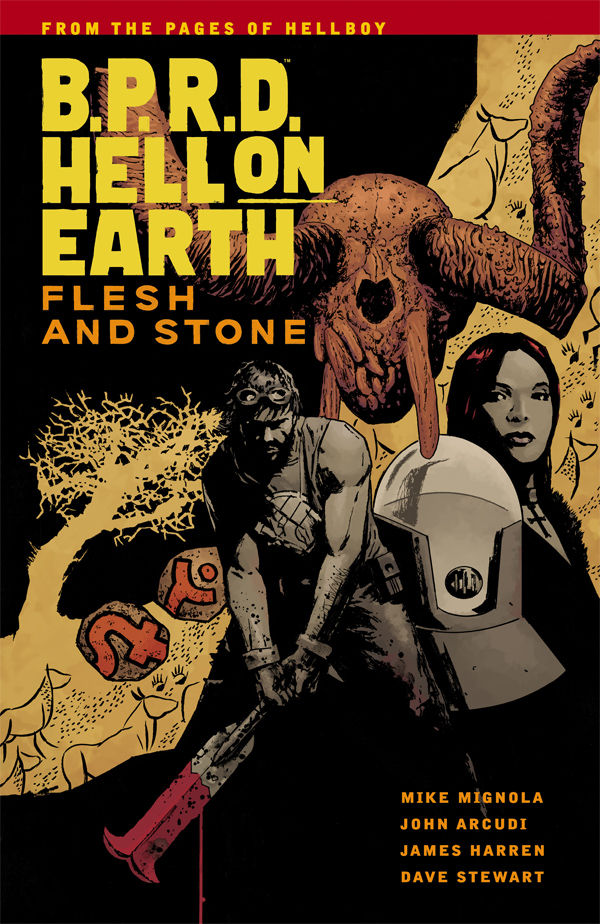 BPRD Hell On Earth Trade Paperback Volume 11 Flesh And Stone