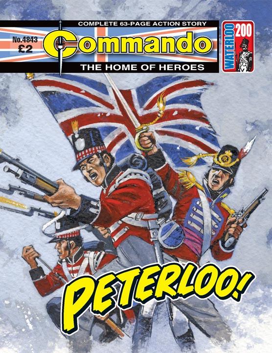 Commando No 4843 – Peterloo!