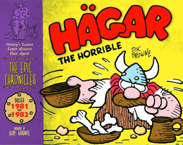 Epic Chronicles Hagar The Horrible Hard Cover 1982-83