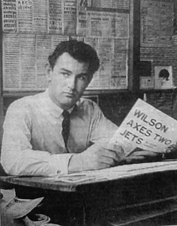 Roger Perry in the Girl office in early February 1965. The newspaper headline refers to the Labour government's decision to cancel two jets - a decision that would have grave implications of the British aerospace industry, noted in our coverage of the British Interplanetary Society's Dan Dare themed event earlier this year. A self-portrait with the Rolleiflex sitting on the window sill and using the self-timer!