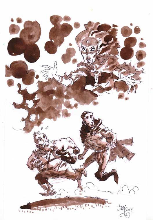 """Dungeons And Burglars"" by Jok and Santullo"