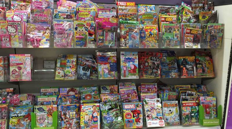 Sainsbury's Comics Section, Lancaster, 19th September 2015