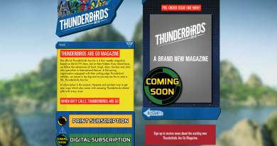 First look: the new Thunderbirds Are Go magazine web site is live
