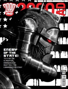 2000 AD Prog 1807 - Hammerstein by Clint Langley