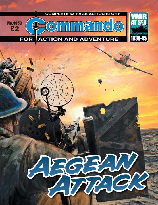 Commando 4853 – Aegean Attack