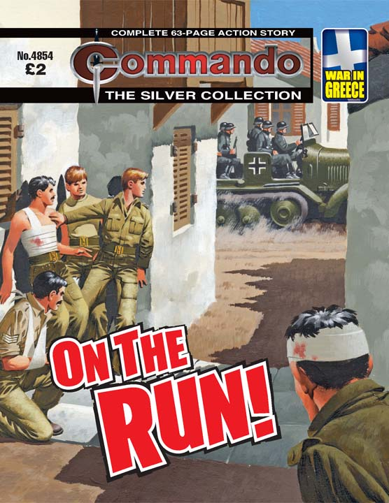 Commando No 4854 – On The Run!