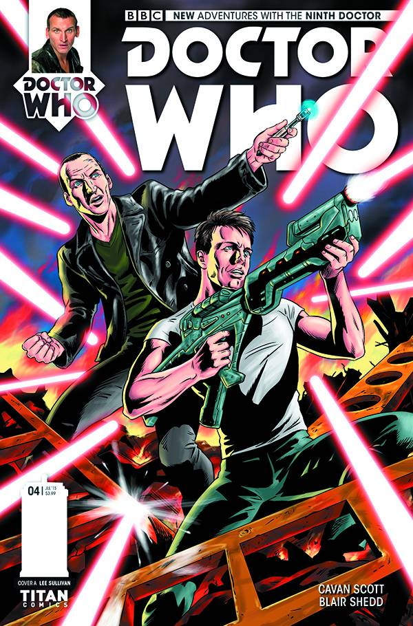 Doctor Who: The Ninth Doctor #4 (of 5) Regular Cover