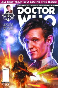 Doctor Who: The Eleventh Doctor Year Two #1 Regular
