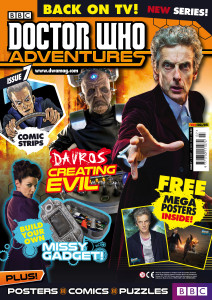 Doctor Who Adventures Issue 7 - Cover