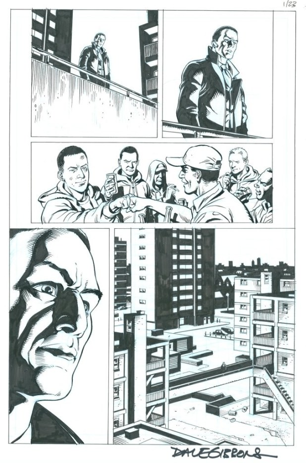 Page 23 of The Secret Service #1 by Dave Gibbons
