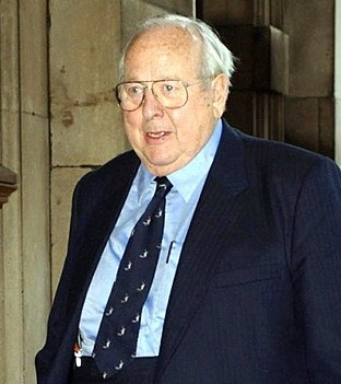 Agent Geoffrey Wake bore a resemblance to actor James Grout (pictured)